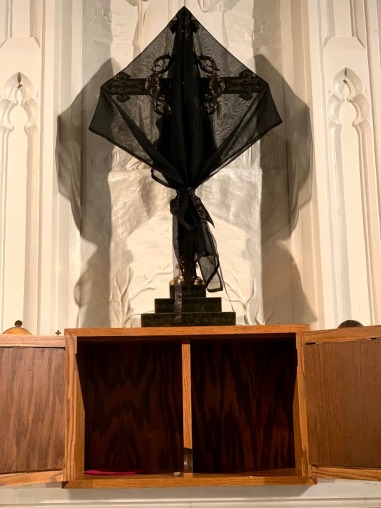 Good Friday Veiled Cross at Trinity in Bethlehem 2019